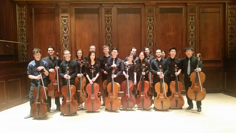 Eastman Cello Ensemble (May 16th, 2018)