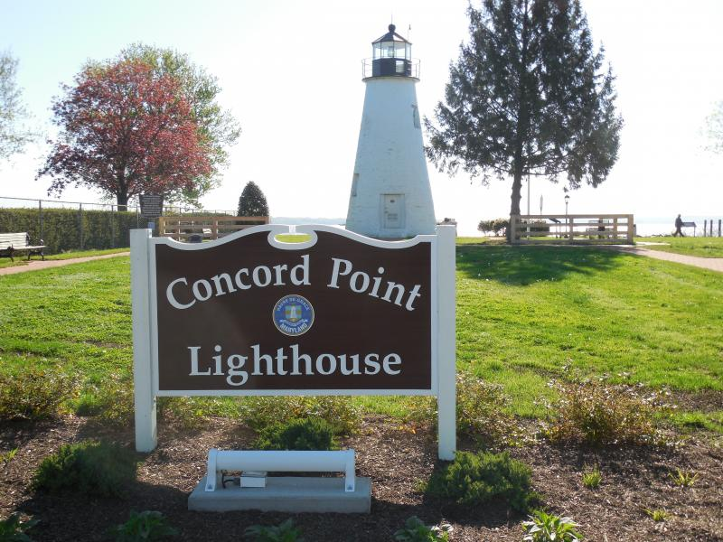 The Concord Point Lighthouse in Havre de Grace.