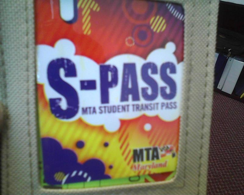 Students who use public transportation to get to school are issued free, electronic S-Passes for public buses and trains.