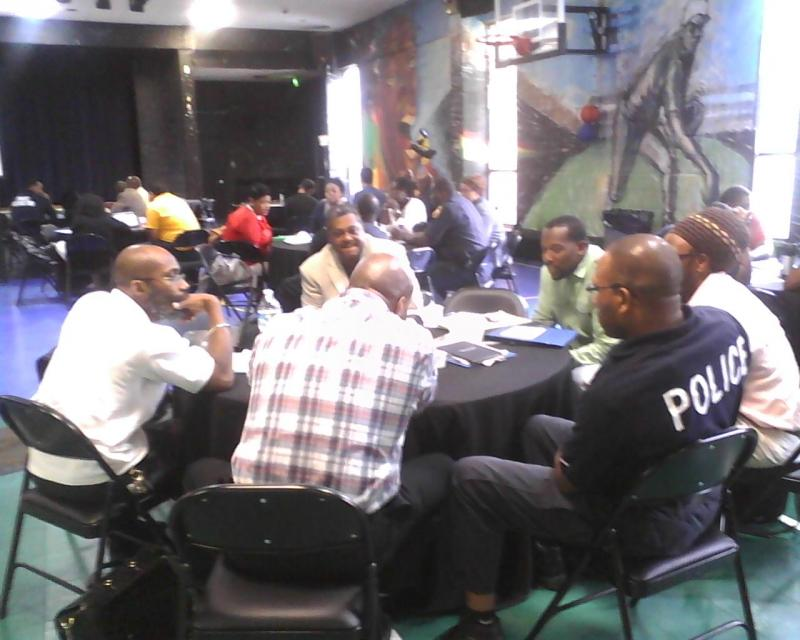 Baltimore city school police and principals exchange ideas on how to make their schools more welcoming and nurturing. District officials hope these climate training sessions will lead to a drop in chronic absenteeism.
