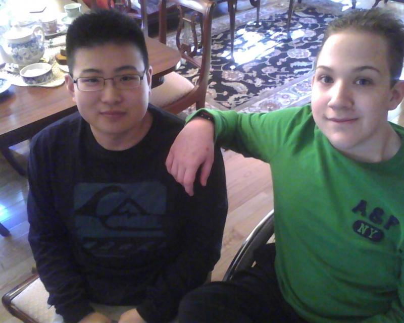 Adam is in college now and Nathaniel receives in-home instruction.