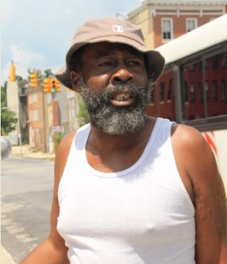 Harlem Park resident Maurice Brown.