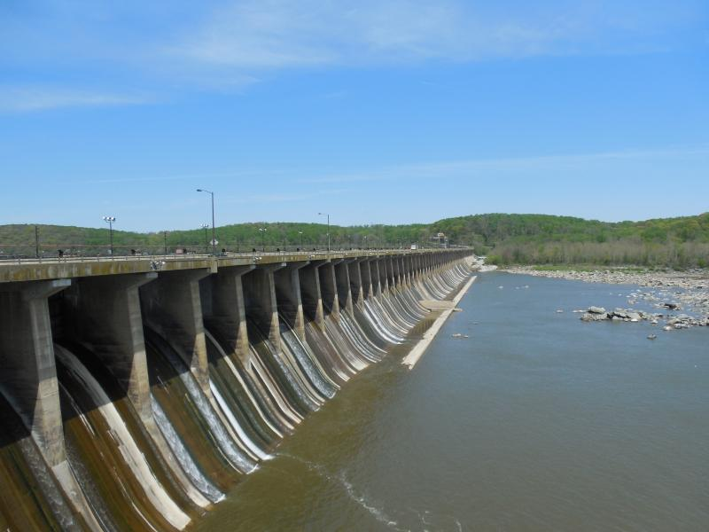 The Conowingo Dam stretches across the Susquehanna River barely 10 miles from the Chesapeake Bay. It has been trapping sediment for more than 80 years.