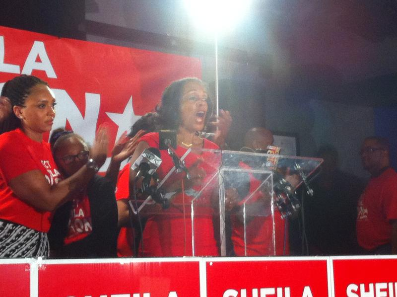 Sheila Dixon concedes on primary night