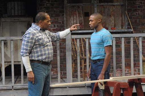 struggles of troy maxson in fences by august wilson
