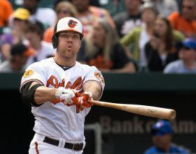 Orioles first baseman Chris Davis.