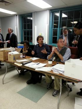 The official vote canvas in Annapolis stretches into Thursday night.