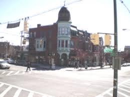 The site of the former I. J. Heneson Pharmacy, on the corner of 25th and Charles Street