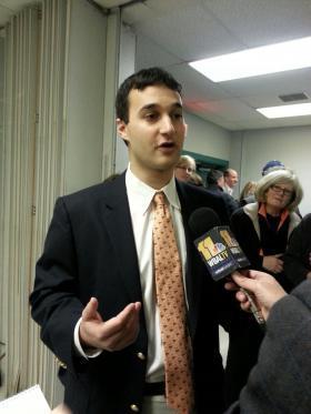Annapolis mayor-elect Michael Pantelides.