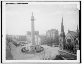 Washington Monument, Detroit Publishing Company - LOC 1906
