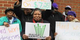 The Maryland legislature is considering a bill to raise the minimum wage to $10.10.
