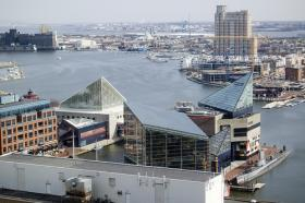 A view of Baltimore's Harbor