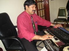 Prem Raja Mahat, at his home in northeast Baltimore
