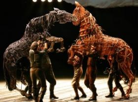 The national touring company of 'War Horse.""
