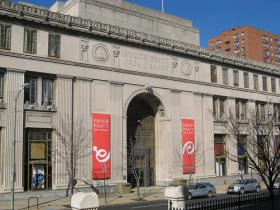 Central branch of the Enoch Pratt Free Library