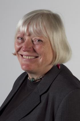 """Liz Wells, Curator of """"Light Touch"""" and Professor of Photographic Culture, Plymouth University."""