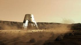 The Mars One project aims to send four people to the Red Planet by 2023.