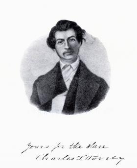 "Sketch of Charles Torrey, originally published in ""Memoir of the Rev. Charles T. Torrey"" by J. P. Lovejoy."