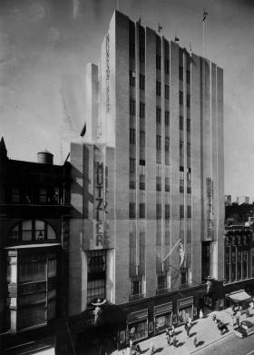 The Hutzler Building in Baltimore.