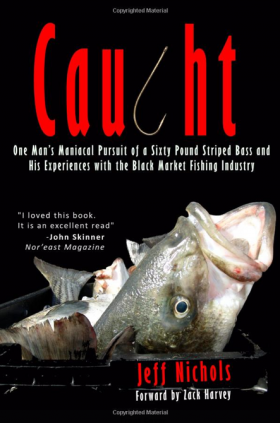 Comedian Jeff Nichols discusses his involvement with the fishing industry in his new book, Caught.