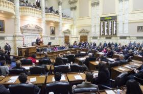 The Maryland General Assembly voted this year to raise the state's minimum wage to $10.10.