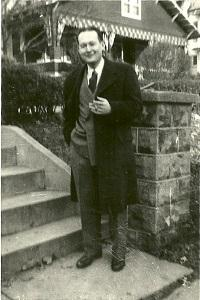Nancy's father, Irv Heneson, in the early 1950s