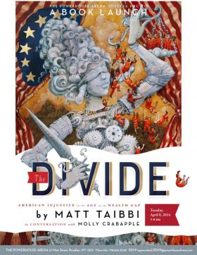 """Matt Taibbi's book """"The Divide"""" explores the inherent inequality within the American criminal justice system."""