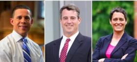 Anthony Brown, Doug Gansler, and Heather Mizeur are vying to win the Democratic Primary in June.