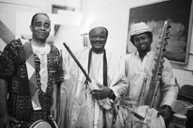Baba Baile McKnight, Cheick Hamala Diabate, and Amadou Kouyate (photo credit:  Shane Carpenter)
