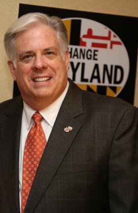 Republican gubernatorial candidate Larry Hogan.
