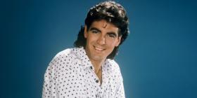 Megastar George Clooney before he hit it big.
