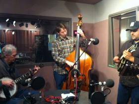 Frank Solivan and Dirty Kitchen in WYPR's Studio B.