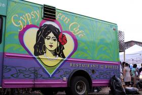 Gypsy Queen Cafe food truck.
