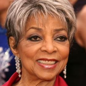 The late Ruby Dee.