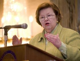 U.S. Sen. Barbara Mikulski (D-Md.)