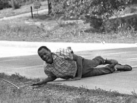 The image of James Meredith getting shot while marching for Civil Rights became iconic following its publication.