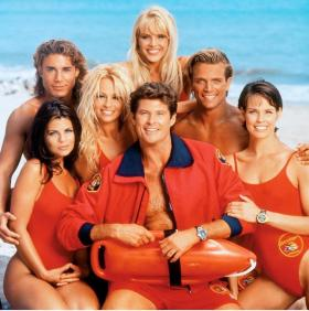 Popular American TV shows like Baywatch continue to impact America's image abroad.
