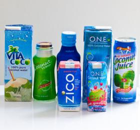 The popularity of coconut water is a more recent example of a foodie craze.