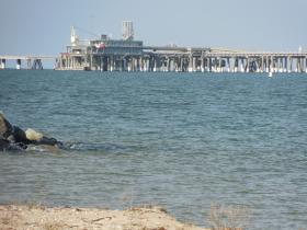 Dominion's liquefied natural gas terminal at Cove Point.