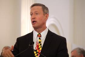 Governor Martin O'Malley.