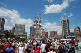 Sailabration drew in more than 1.5 million people to Baltimore's Inner Harbor in 2012.