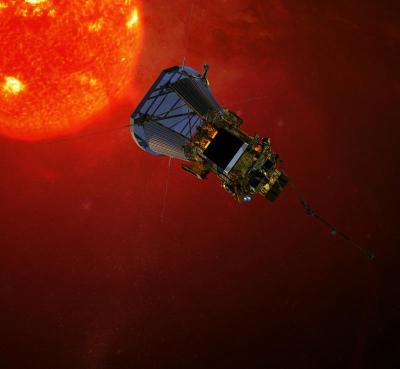 A rendering of Solar Probe Plus