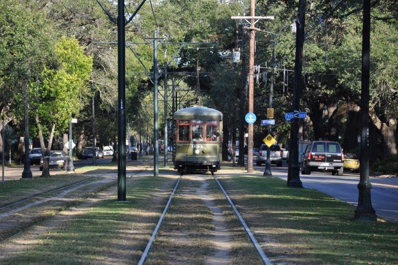 St. Charles Avenue in New Orleans is Dover's choice for the best street for public transportation.