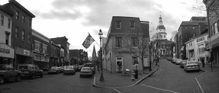"Main Street in Annapolis is Dover's favorite street in Maryland. ""It's a well-preserved, well-cared-for classic; feels like the heart of town."""