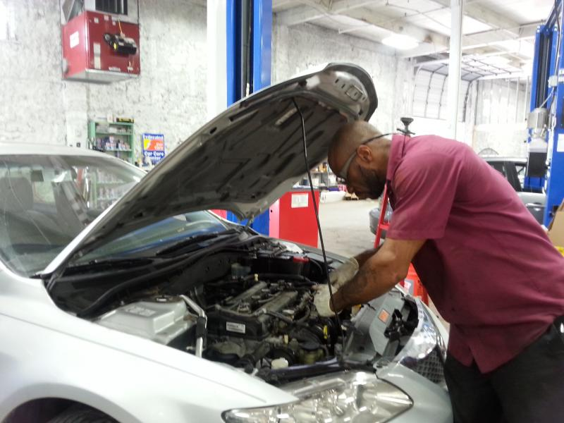Alfred Johnson spent 27 years in prison for second-degree homicide. He was only 17-years-old at the time of his arrest. Now, at the age of 45, he's a working mechanic for Vehicles for Change.