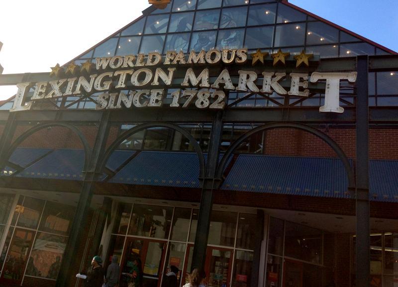 Lexington Market is Baltimore's oldest and largest public market.