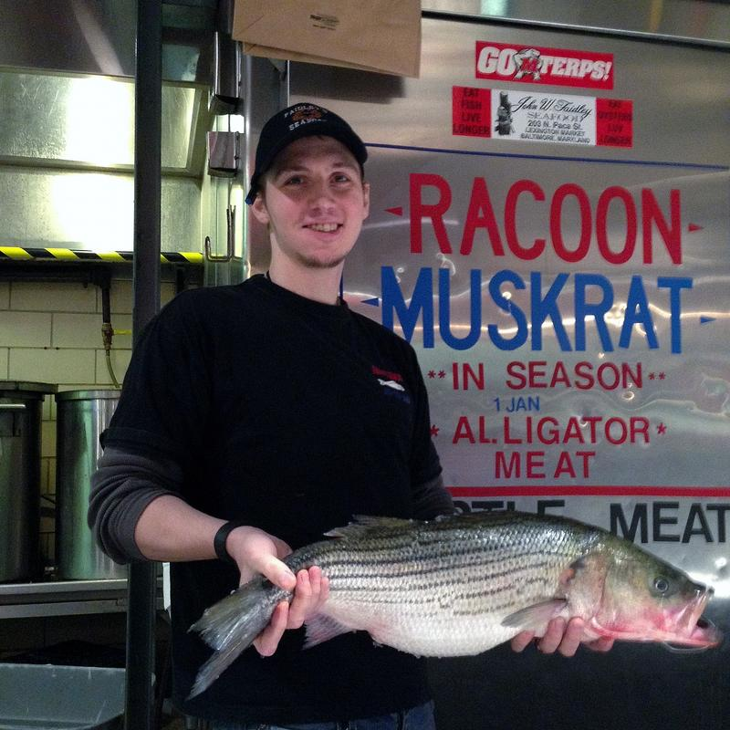 Lexington Market is famous for its unique offerings like muskrat and racoon.