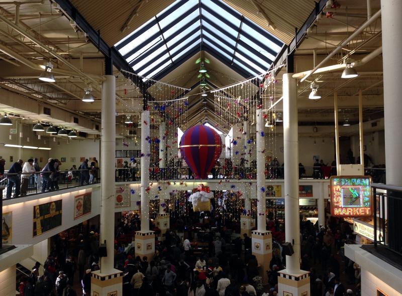 Lexington Market during the latest holiday season.