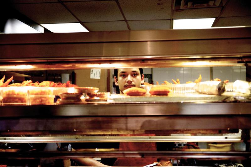 Zeeshawn Kasmi at King's Fried Chicken, 3300 Greenmount Ave
