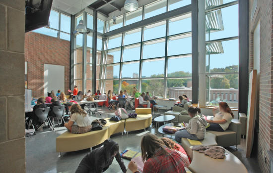 A 21st Century Design At The Carver Center In Baltimore County